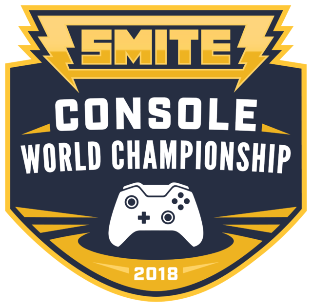 SMITE ConsoleWorldChampionship Logo 2018
