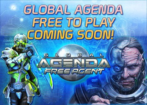 Global Agenda - Global Agenda s'annonce (presque) en Free to Play