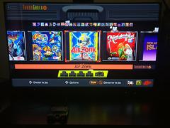 Le menu version TurboGrafX