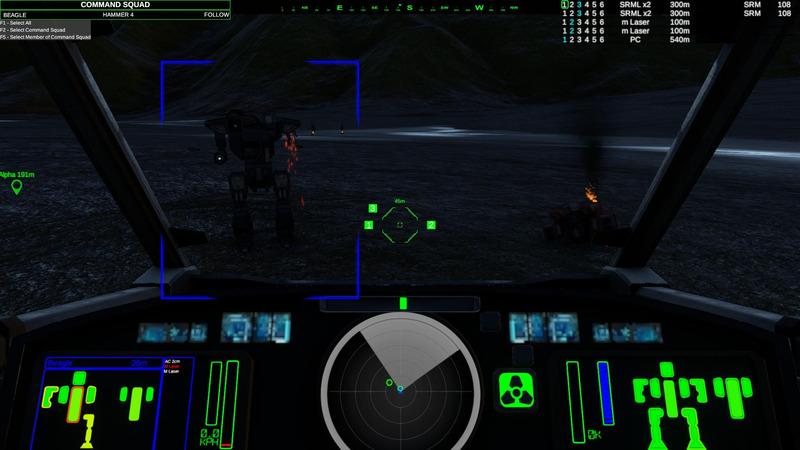 vue cockpit