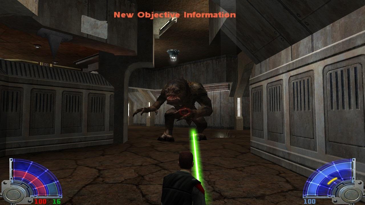 Star Wars Jedi Knight Jedi Academy Rancor Jeuxonline