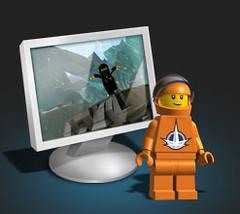 Minifig astronaute