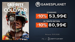 Promo Gamesplanet : Call of Duty Black Ops Cold War avec -10% de réduction