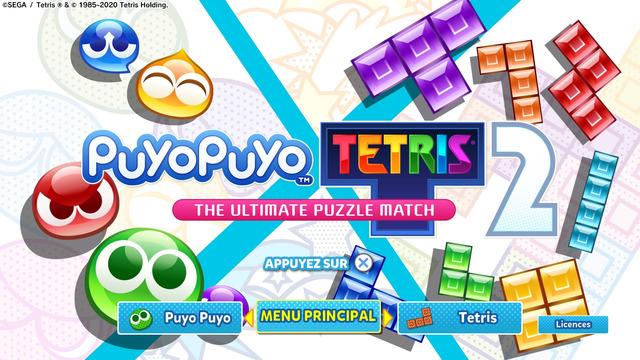 Images de Puyo Puyo Tetris 2