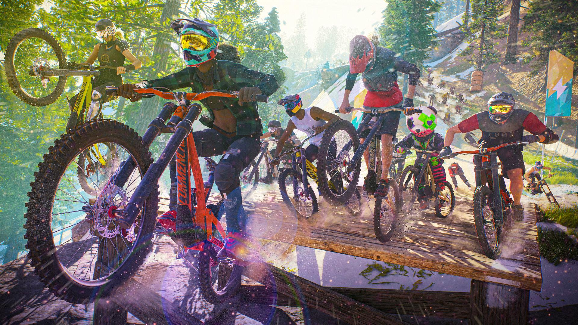 Ubisoft repousse le jeu — Riders Republic