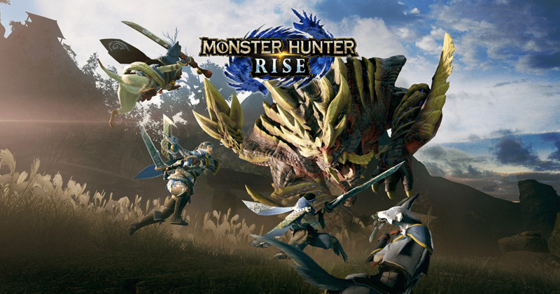 Artwork phare pour Monster Hunter Rise