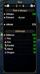 Bonus de set Valstrax : 80% HP+red