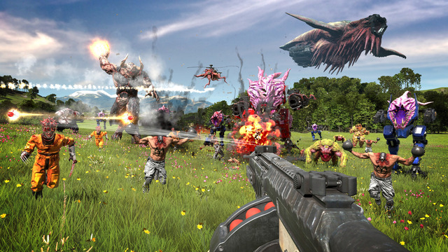 Images de Serious Sam 4