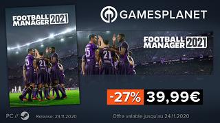 Football Manager 2021 à -27%