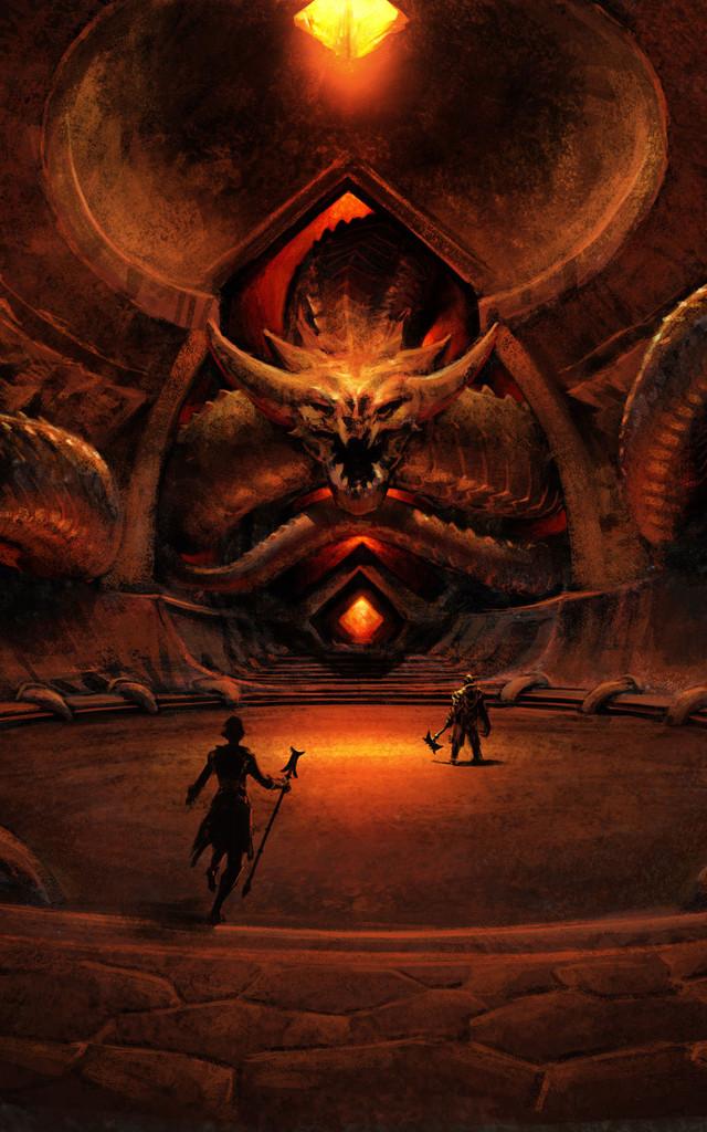 L'arêne du dragon