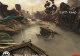 Tempête de sable du fort de la terre