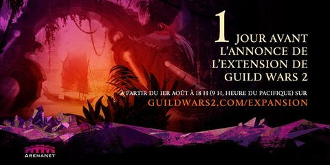 Guild Wars 2 - Annonce de la seconde extension de Guild Wars 2 le 1er août