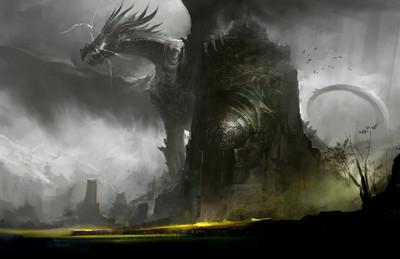 Dragon des éclairs