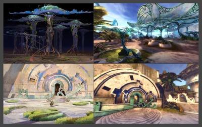 Concept art - Arche du Lion