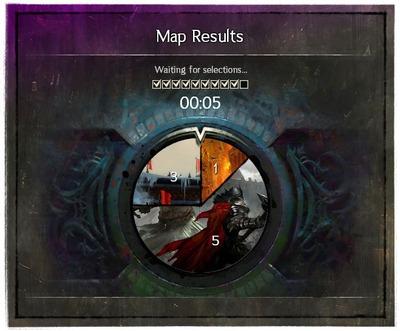 Interface Vote pour carte JcJ