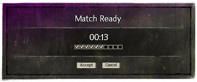 Interface Invitation au match JcJ