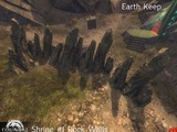 Murs du fort de la terre