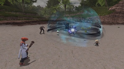 Géo-Poison : empoisonne les ennemis dans l'aire d'effet et réduit graduellement leurs HP.
