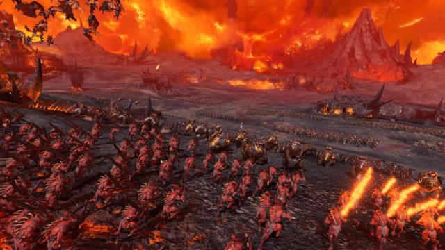 """Aperçu du mode """"survival battle"""" de Total War: Warhammer 3 - Vous vous êtes trompé sur ma commande, m'sieur"""
