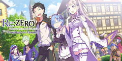 Test de Re:ZERO - The Prophecy of the Throne - J'ai reçu la mort en avantage