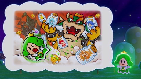 Bowser toujours aussi taquin