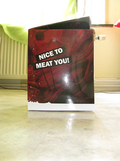 Nice to Meat You, le press kit Mythos