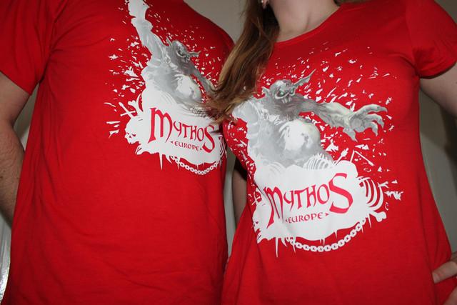T-Shirts officiel Mythos