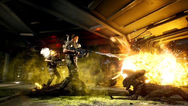 Images d'Aliens: Fireteam