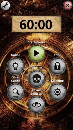 L'application Unlock, thématisée pour chaque aventure