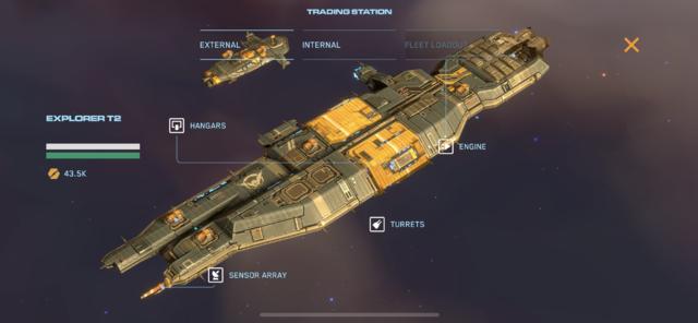 Capture d'écran officielle de Homeworld Mobile