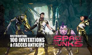 Distribution : 100 invitations à l'accès anticipé de Space Punks à gagner