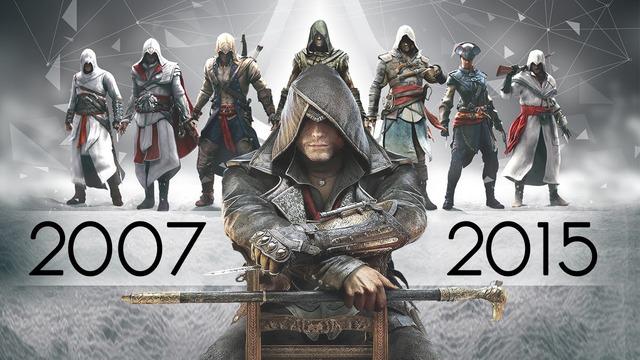 Assassin's Creed de 2007 à 2015
