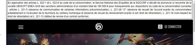 Ubisoft amende de 180 000€