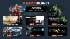 Bons plans : catalogues Ubisoft, 2K Games et Street Fighter 30th Anniversary en promo