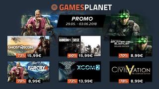Promo Ubisoft et 2K Games