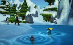 La pêche dans FreeRealms