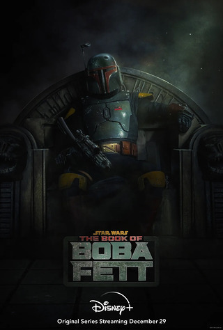Première affiche de Star Wars: The Book of Boba Fett