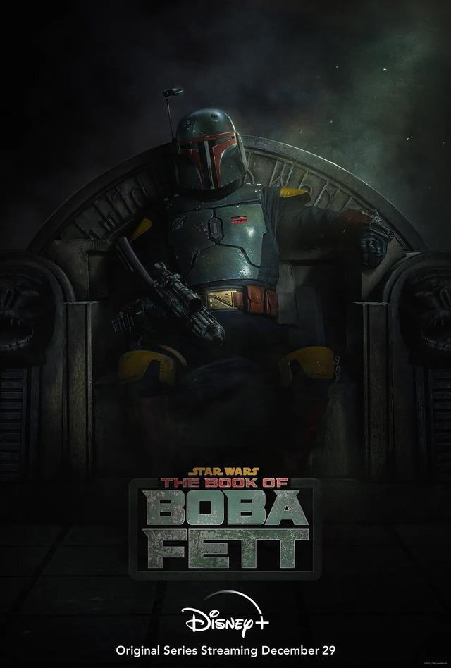 La série Star Wars: The Book of Boba Fett sortira le 29 décembre sur Disney+
