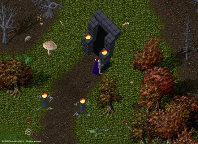 L'entrée du donjon Doom