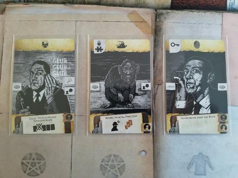 Le détective privé Howard Lovecraft et Brown Jenkins tel que je l'imaginais en lisant la nouvelle de La Maison de la Sorcière