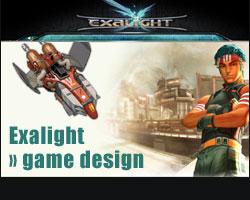 Le game design d'Exalight