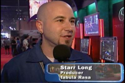 Starr Long à l'E3 2004