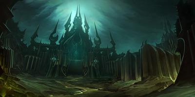 Ecran de chargement de la Citadelle de Glace