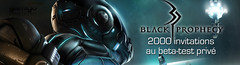 2000 invitations au bêta-test de Black Prophecy