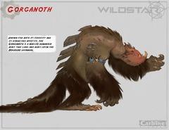 Concept art : Gorganoth (Deradune)