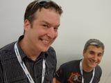 "Gamescom 2012 - Loïc ""Atreid"" Claveau et Troy ""Aether"" Hewitt"