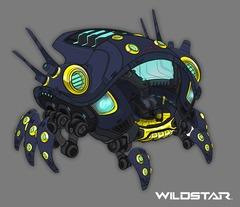 WildStar - Annonce F2P - WS 2015 05 Concept Art   Ikthian Crawler Mount