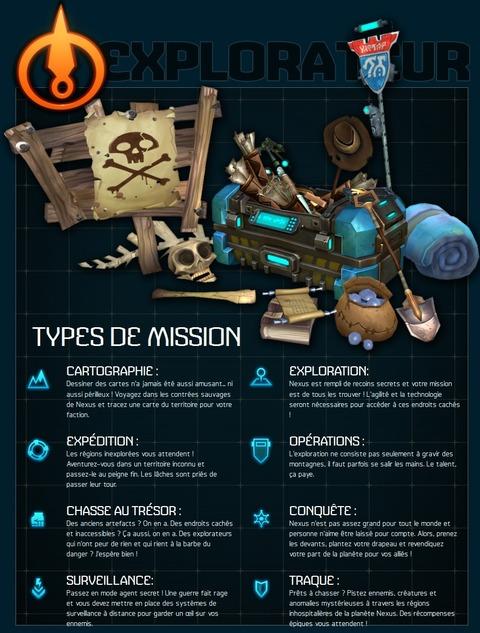 mission explorateur
