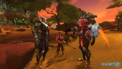 Image article Polycount sur les graphismes - WildStar Mechari71