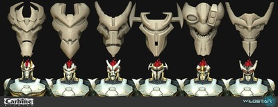Image article Polycount sur les graphismes - WildStar Mechari Male Face Customization1 e1370299018374